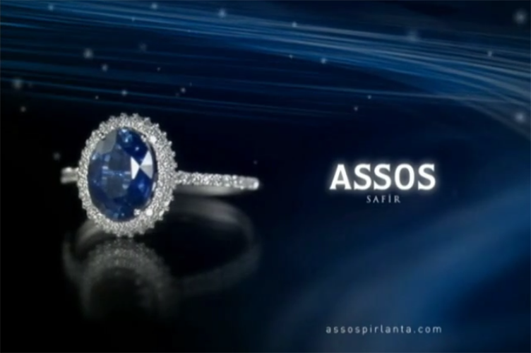 Saphire Ring by Assos Jewelery